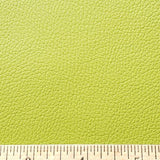 Cadmium Green Faux Leather Foot Long