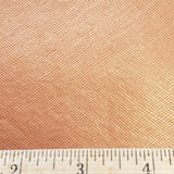 Shimmering Peach Faux Leather Foot Long