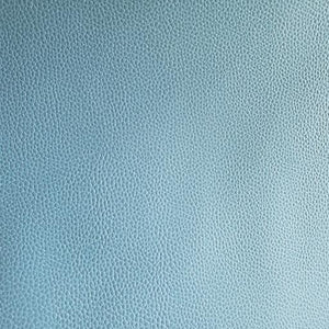 Chambray Blue Faux Leather