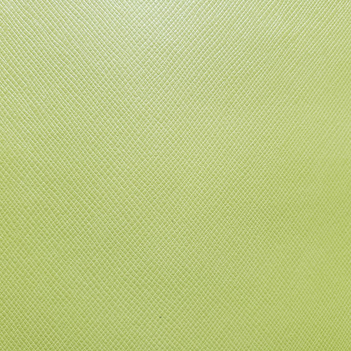 Chartreuse Textured Faux Leather