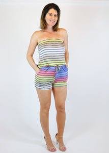 Multi Color Romper
