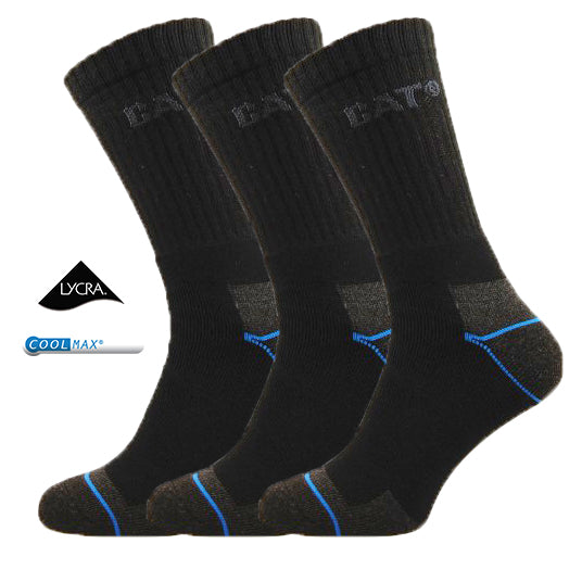 3 Pairs Caterpillar Power & Cool Work Socks