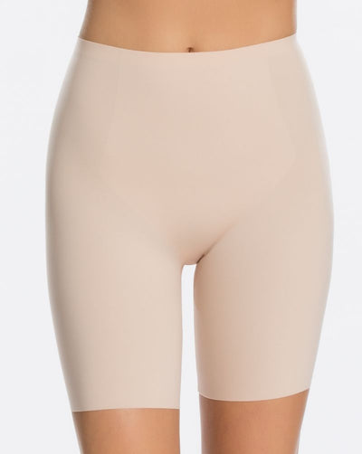 SPANX - Thinstincts® Mid-Thigh Short - 10005R   Soft nude