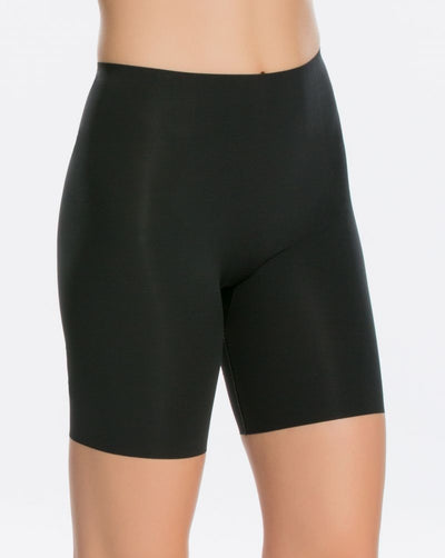 Thinstincts® Mid-Thigh Short in black