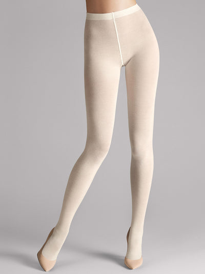 Wolford Merino Tights Ecrue (Off-white)
