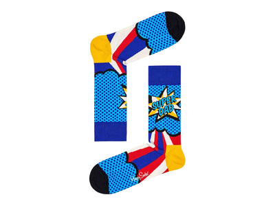 Happy Socks Super Dad Socks Gift Box 3-pk