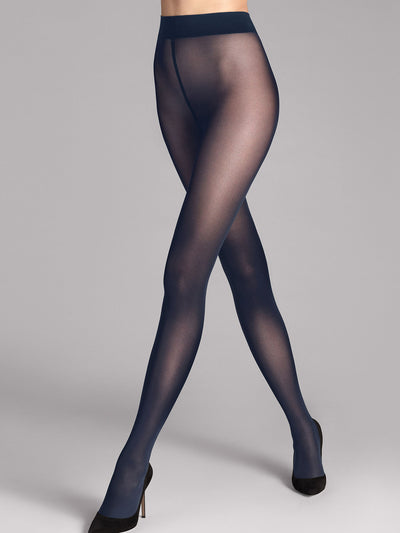 Wolford Pure 50 Tights in Admiral (marineblå)