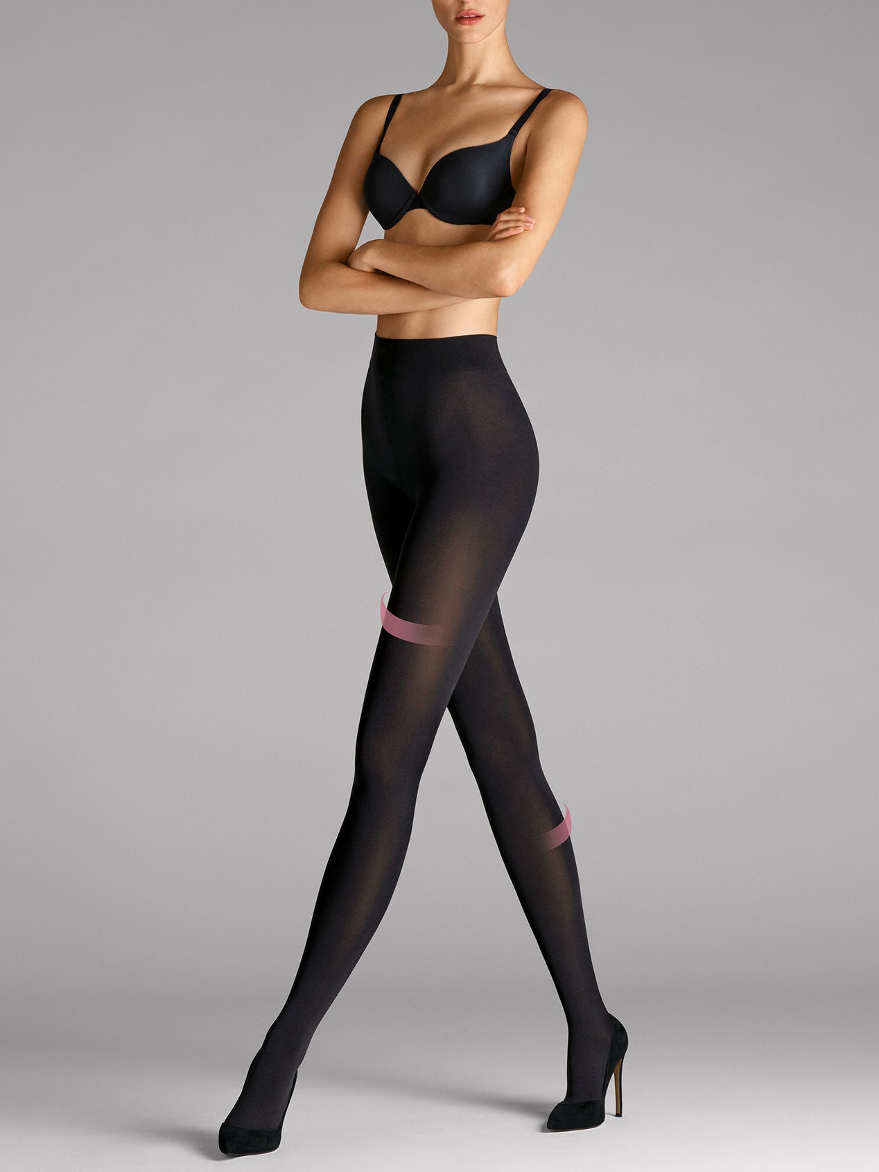 Wolford Velvet 66 leg support Tights  black