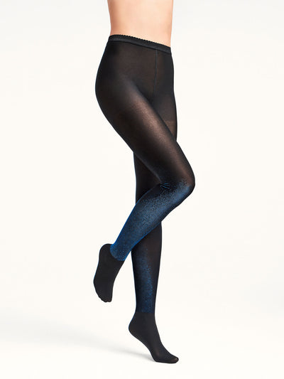 Wolford Wilma Tights black/Navy