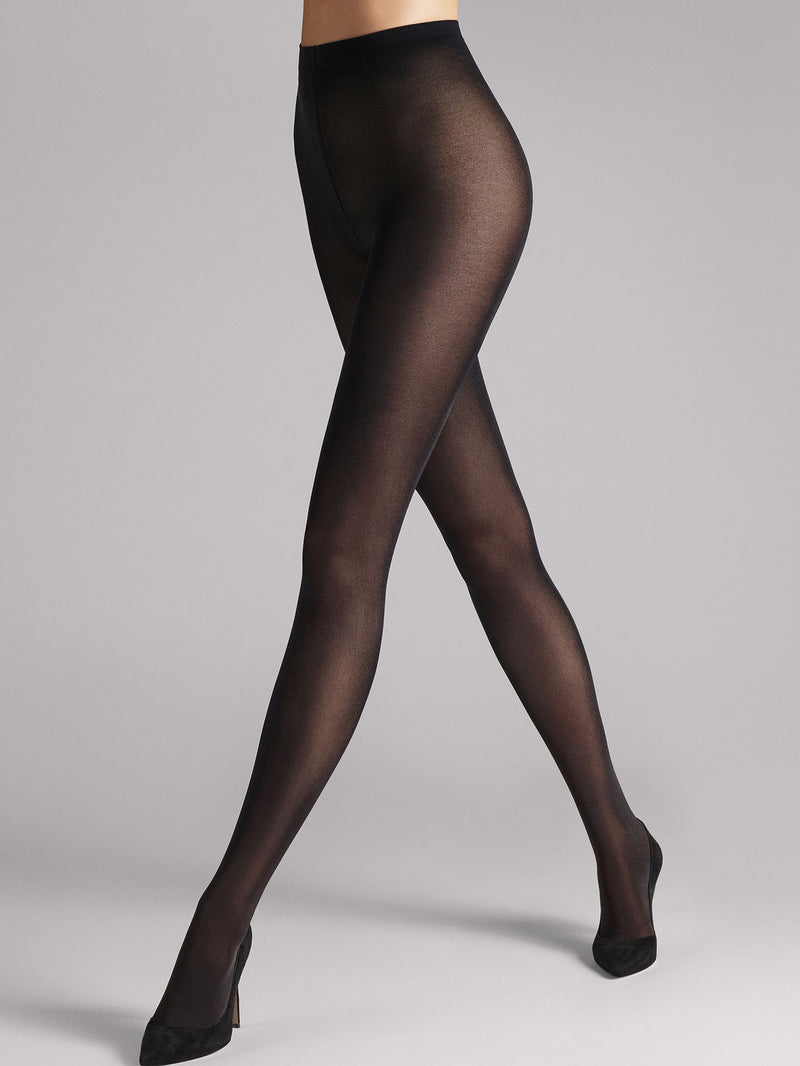 Wolford Satin Opaque 50 Tights  i sort Farge