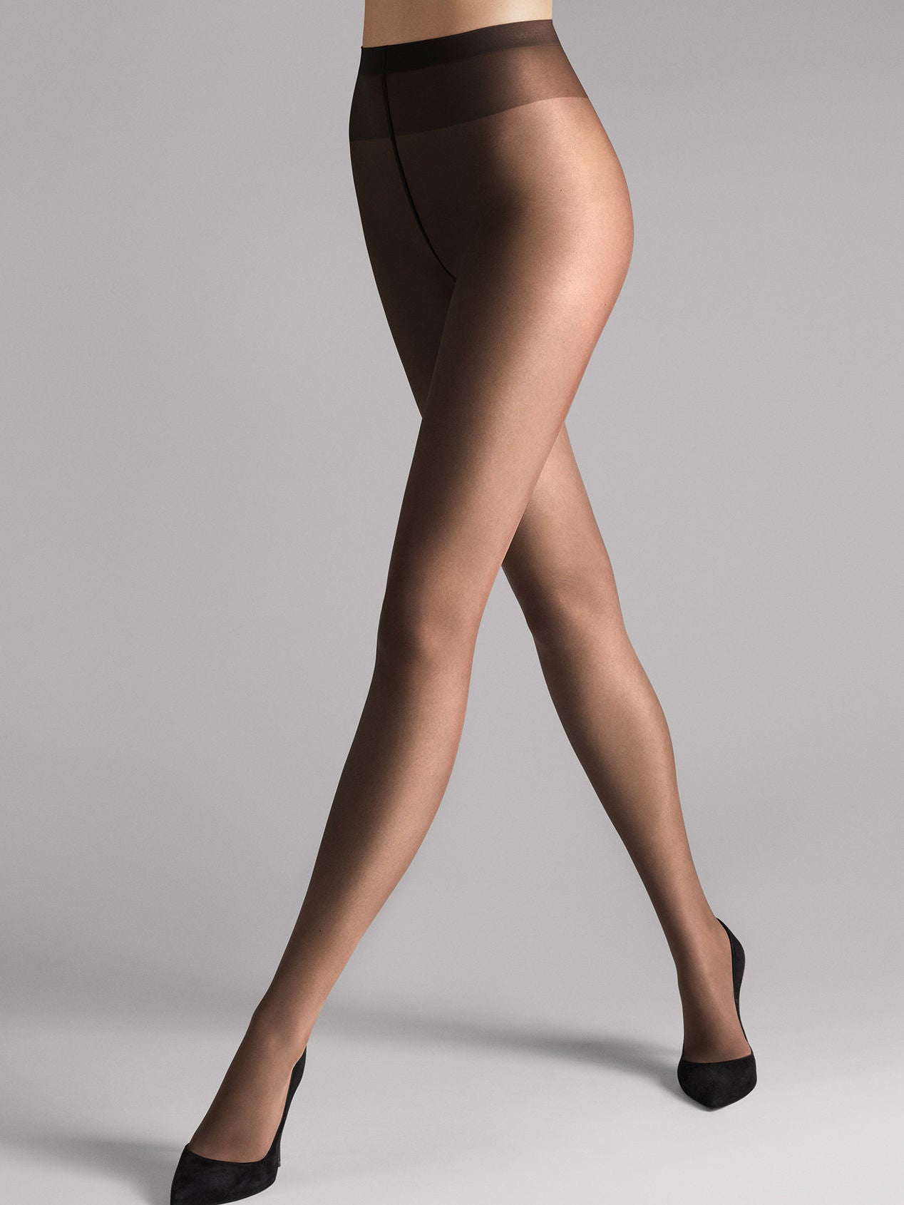 Wolford Sheer 15 Tights Mocca