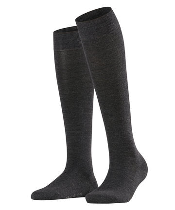 Falke Softmerino Knee Socks Anthra.mel