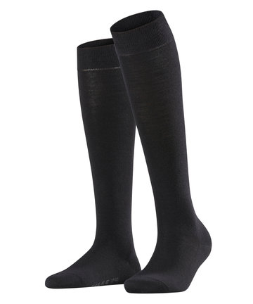 Falke Softmerino Knee Socks black