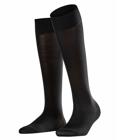 Falke Cotton Touch Knee-high Socks Black