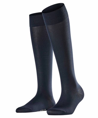 Falke Cotton Touch Knee-high Socks Dark navy