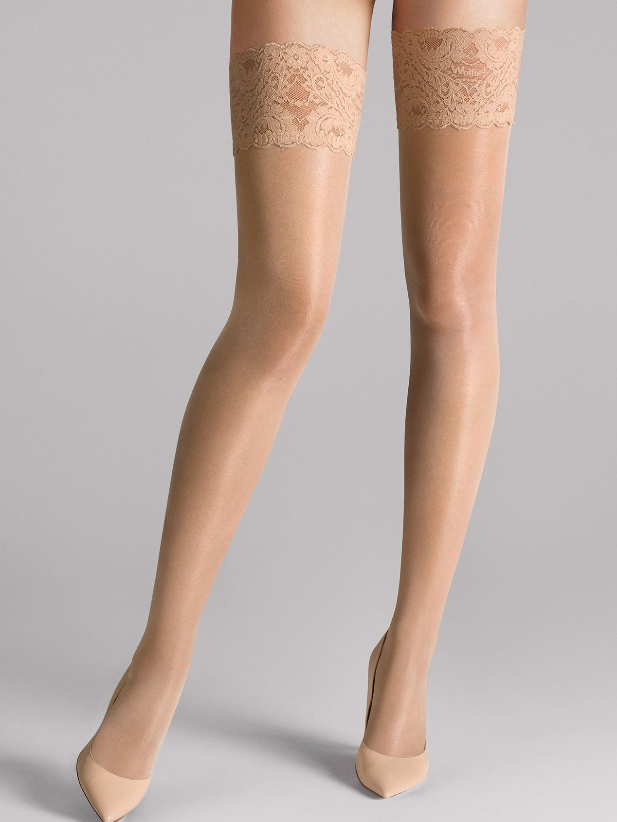 Wolford Satin Touch 20 Stay-Up Fairly Light