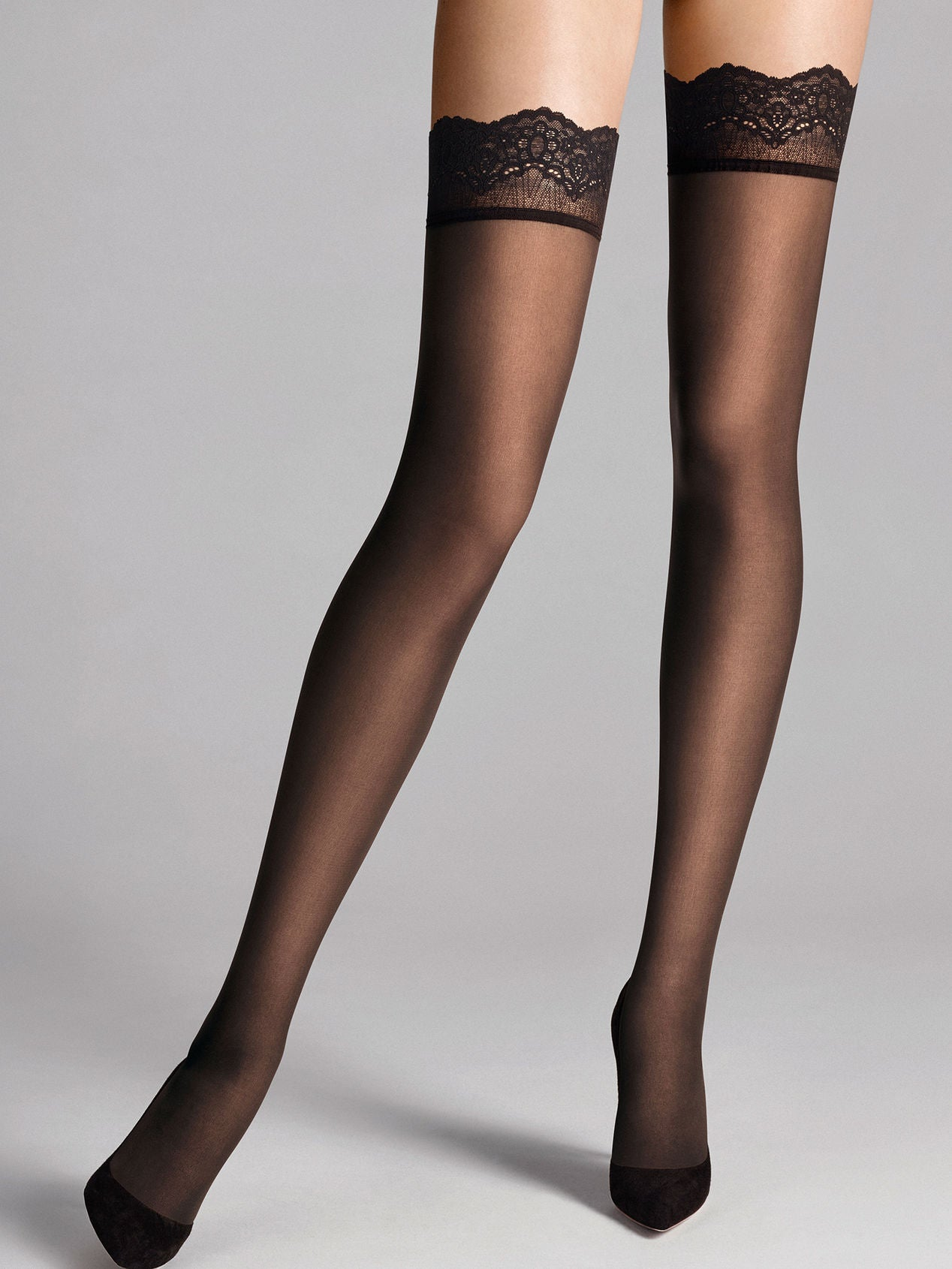 Wolford Velvet Light 40 Stay Ups