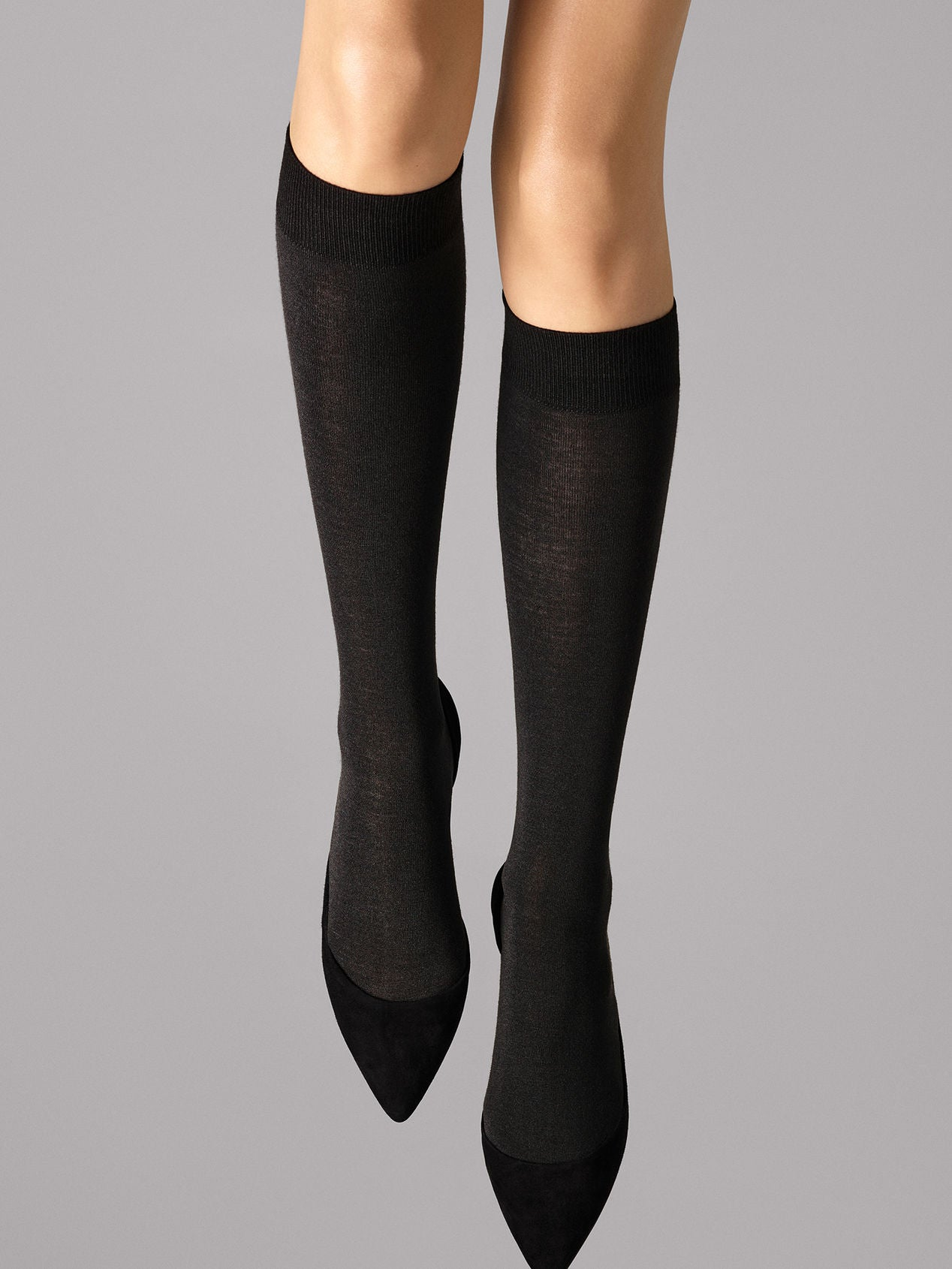 Wolford Merino Knee-Highs  black