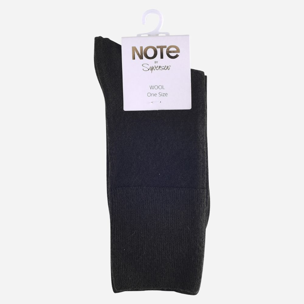 NOTE WOMAN FINE WOOL COMFORT TOP BLACK 36-41
