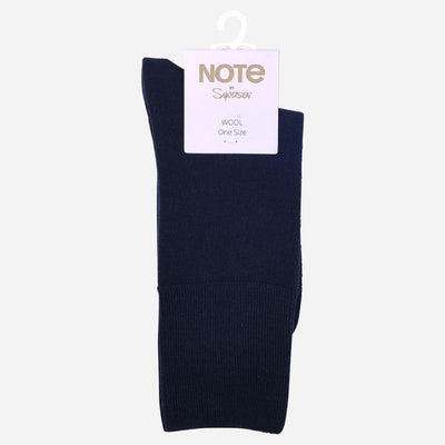 NOTE WOMAN FINE WOOL COMFORT TOP NAVY 36-41