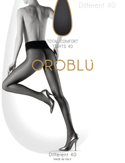 OROBLU Tights Different 40, Total comfort, SUN