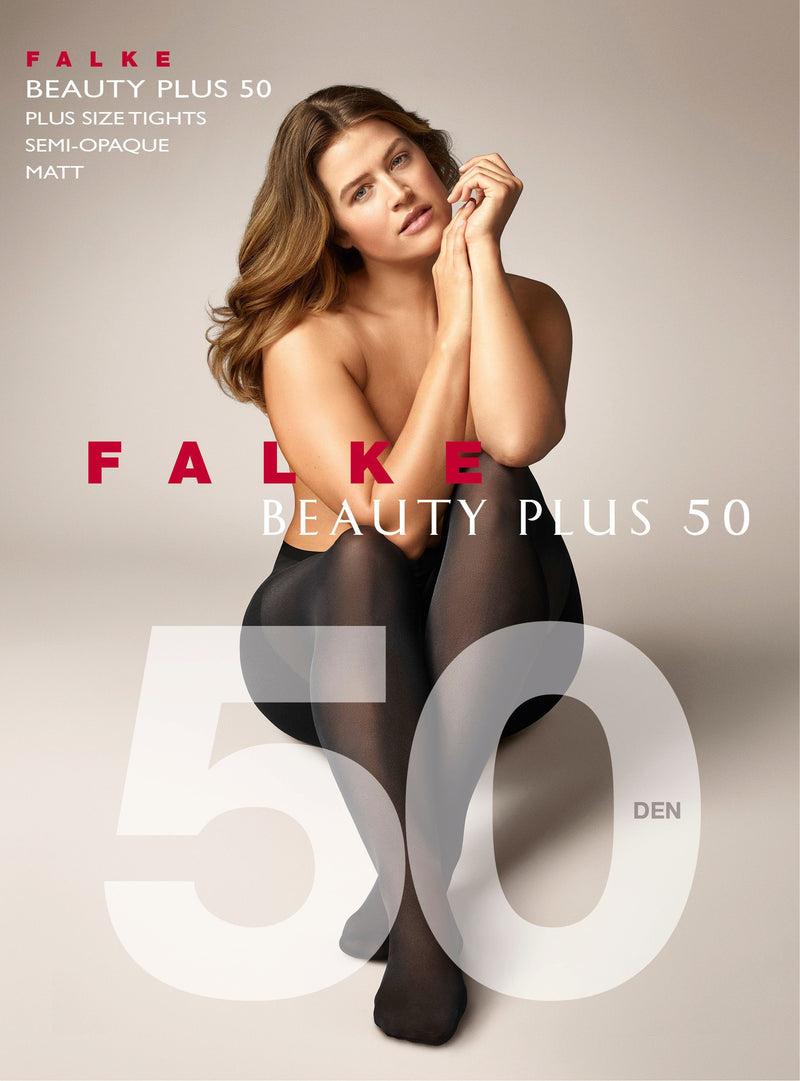 Falke Beauty Plus 50 den Tights Black