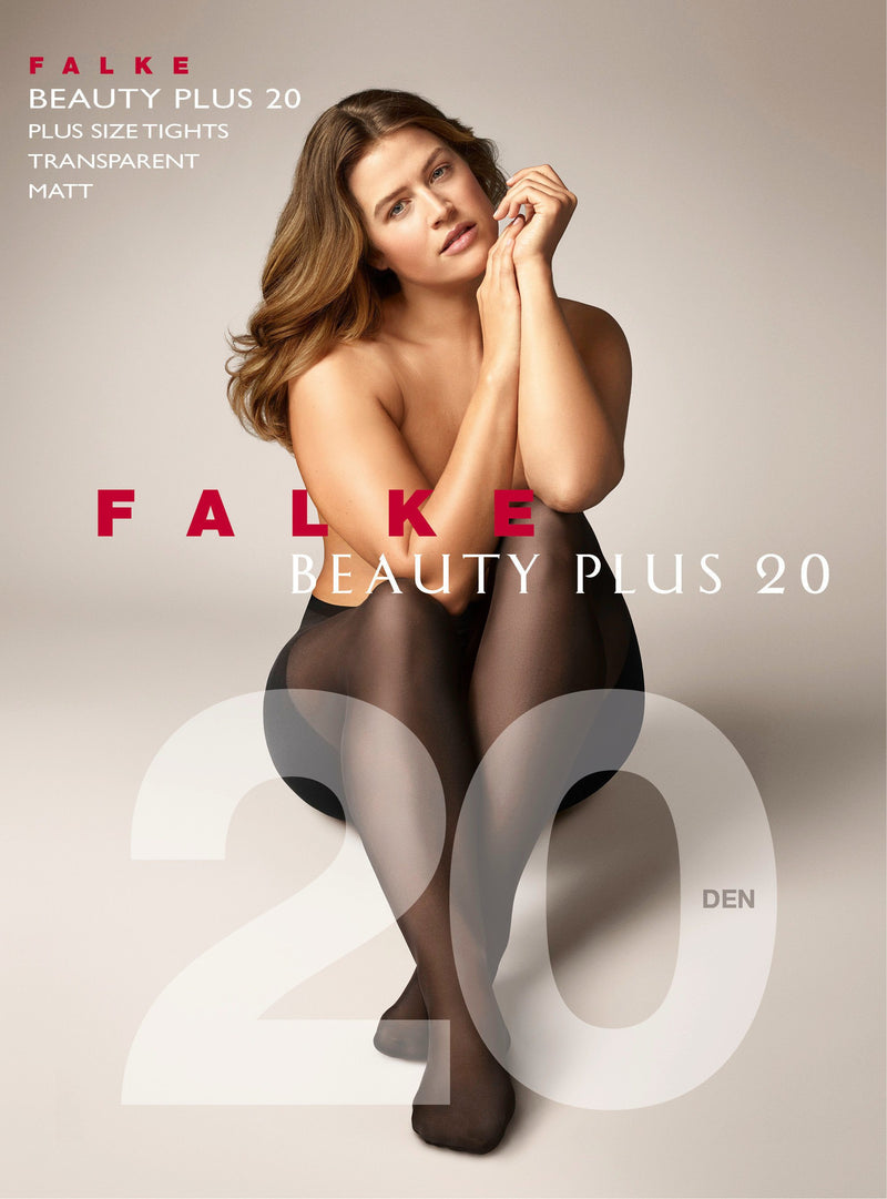 Falke Beauty Plus 20 den Tights Black