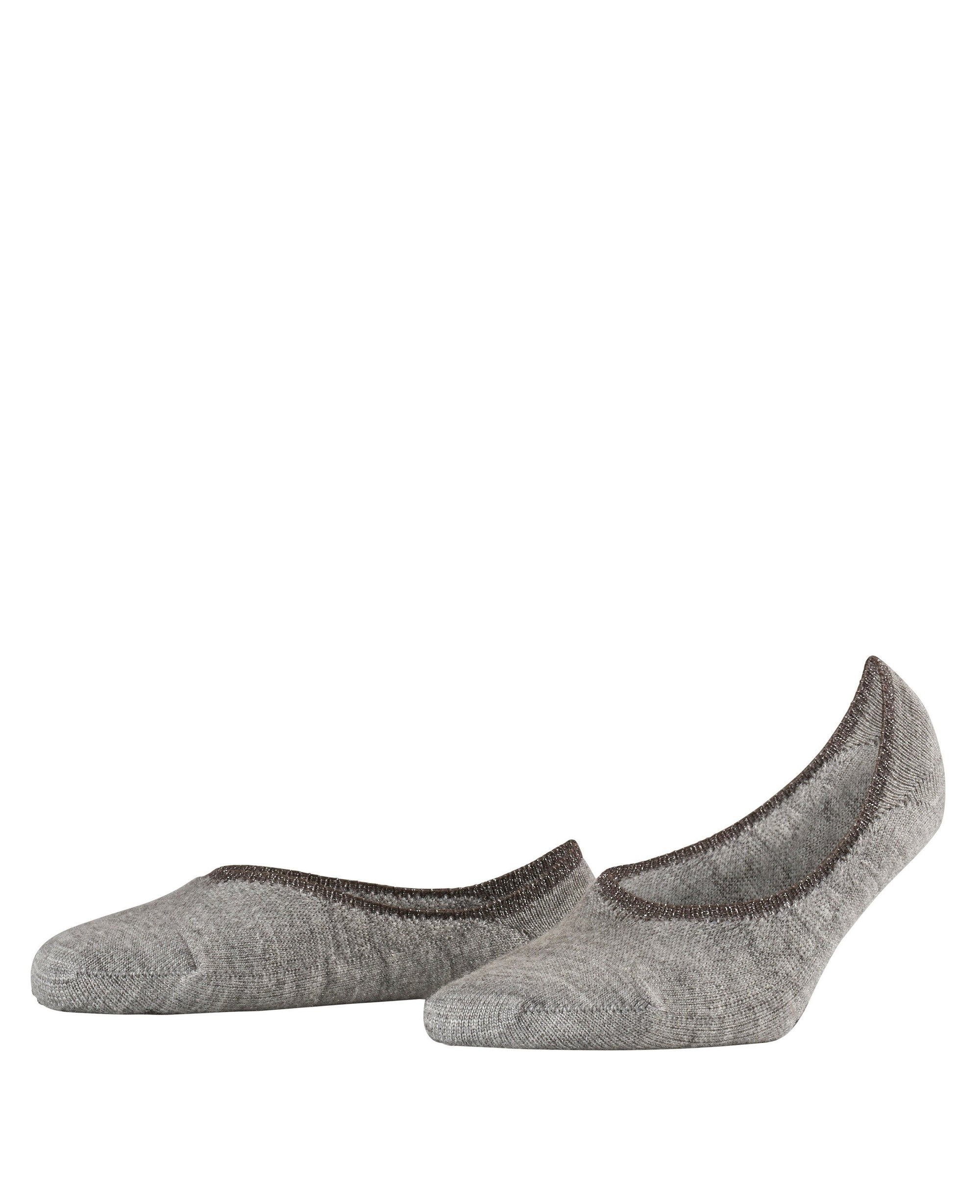 Falke Cosy Ballerina No Show Socks Light grey