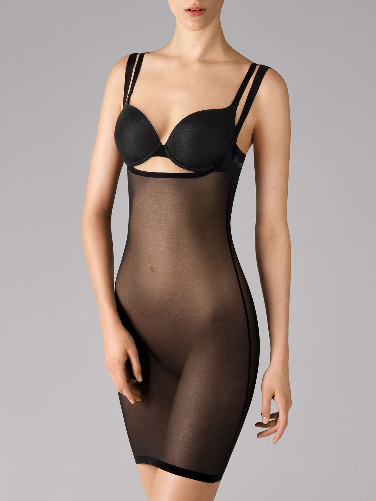 Wolford Tulle Forming Dress Black