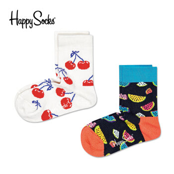 Happy Socks Kids Fruit Sock 2-pack
