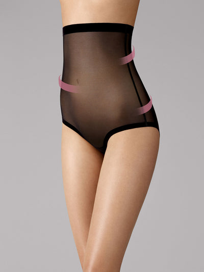 Wolford Tulle Control Panty High Waist Black