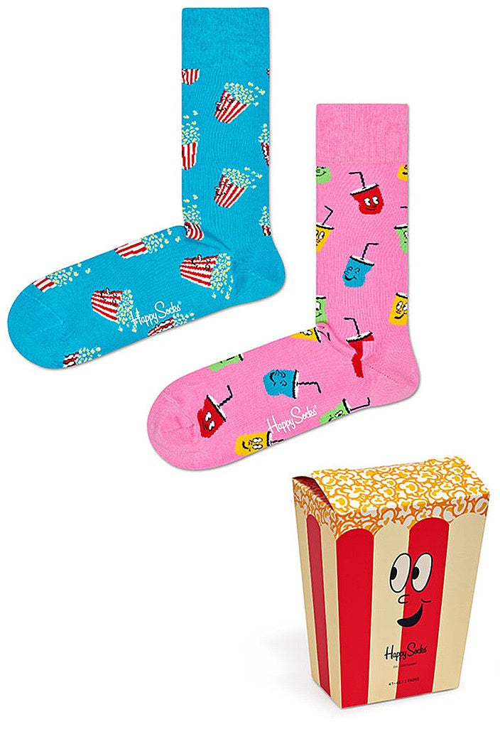 Happy Socks - Snacks/Pop Corn Gift Box