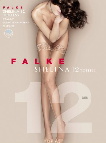 Falke Shelina 12 toeless stay up