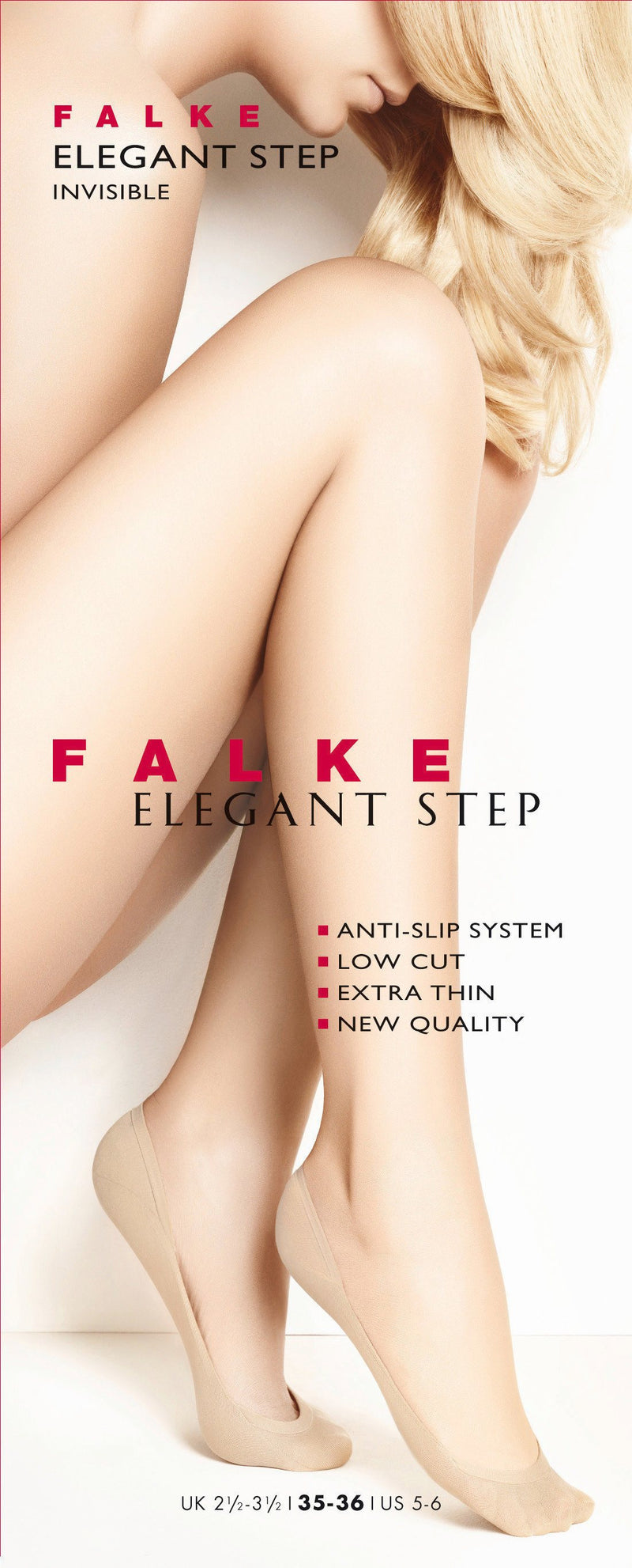 Falke Elegant Step No Show Socks Crystal