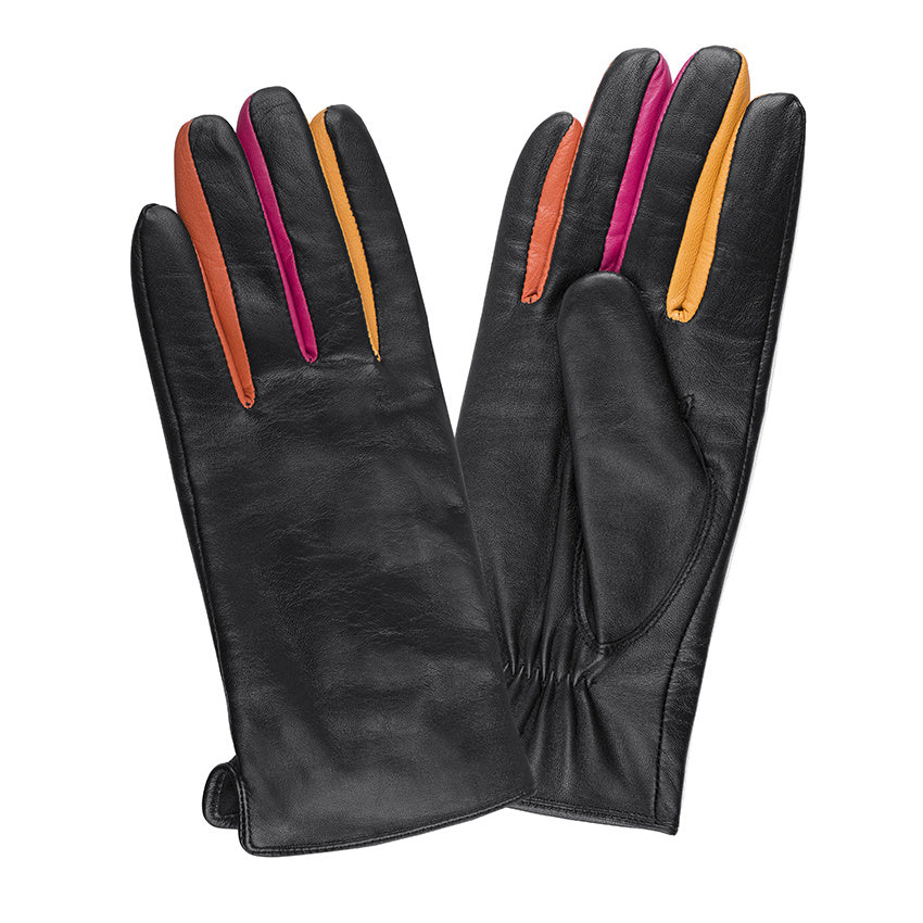 LADIES GLOVE SHEEPSKIN SIDE VENT HK
