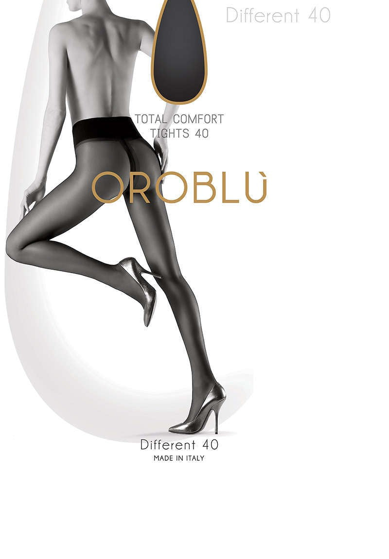 OROBLU Tights Different 40, Total comfort, ADMIRAL