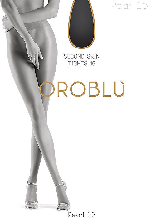 OROBLU Tights Pearl 15 Pure Beauty, Second Skin SUN