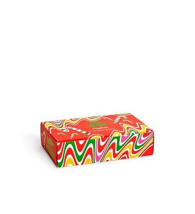 Happy socks  Psychedlic Candy Cane 4-pack gift box