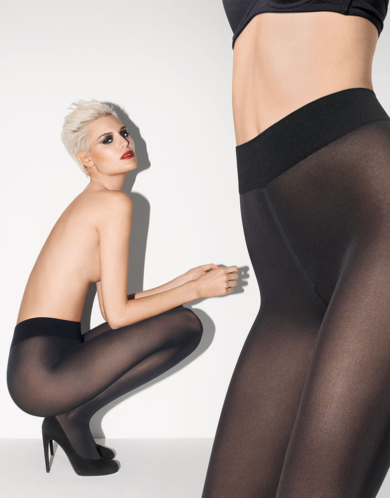 Wolford Pure 50 Tights + Black
