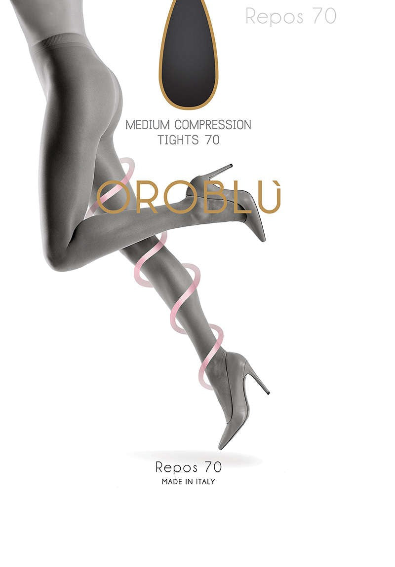OROBLU Tights Repos 70 Relax, BLACK