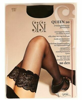 Sisi Queen 20 denier Stay-ups