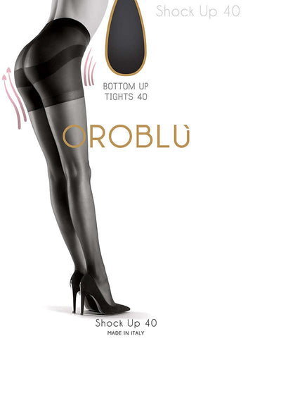 OROBLU Tights Shock Up 40 Bottom Up, SUN