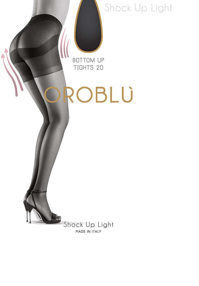 OROBLU Tights Light Shock Up 20 Bottom Up, SUN