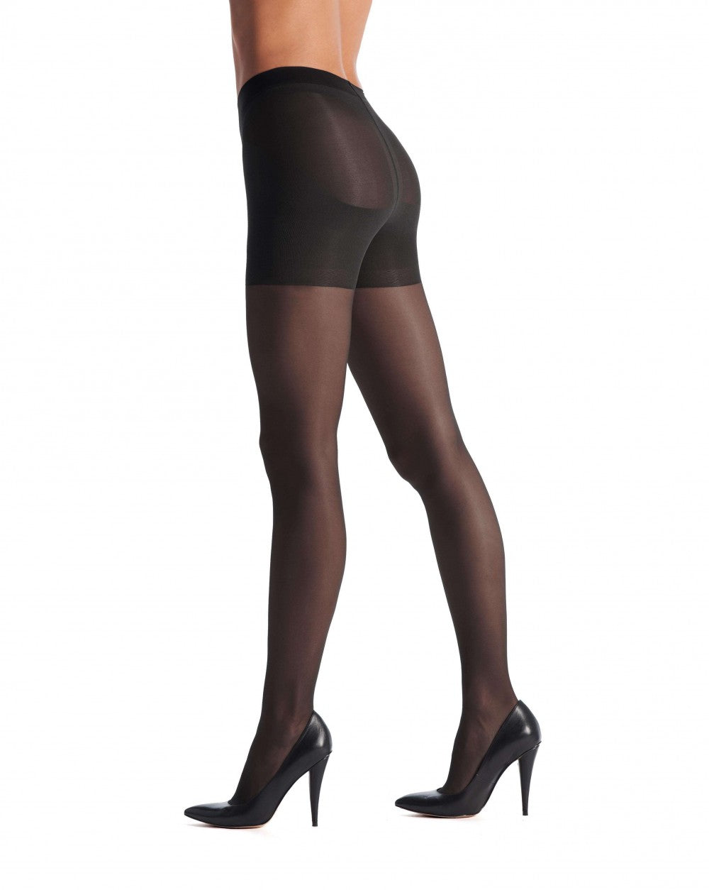 OROBLU Tights Light Shock Up 20 Bottom Up, BLACK