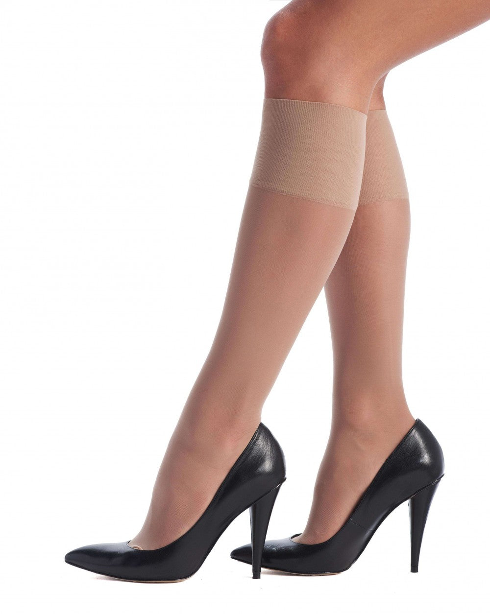 OROBLU Knee Highs Repos 70 Relax, Medium Compression, NUDE