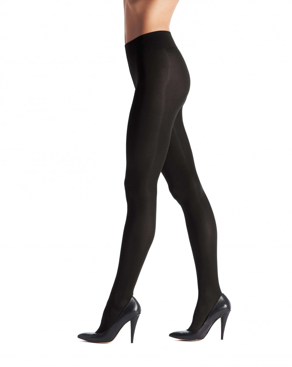 OROBLU Tights Satin 60 Opaque, BLACK