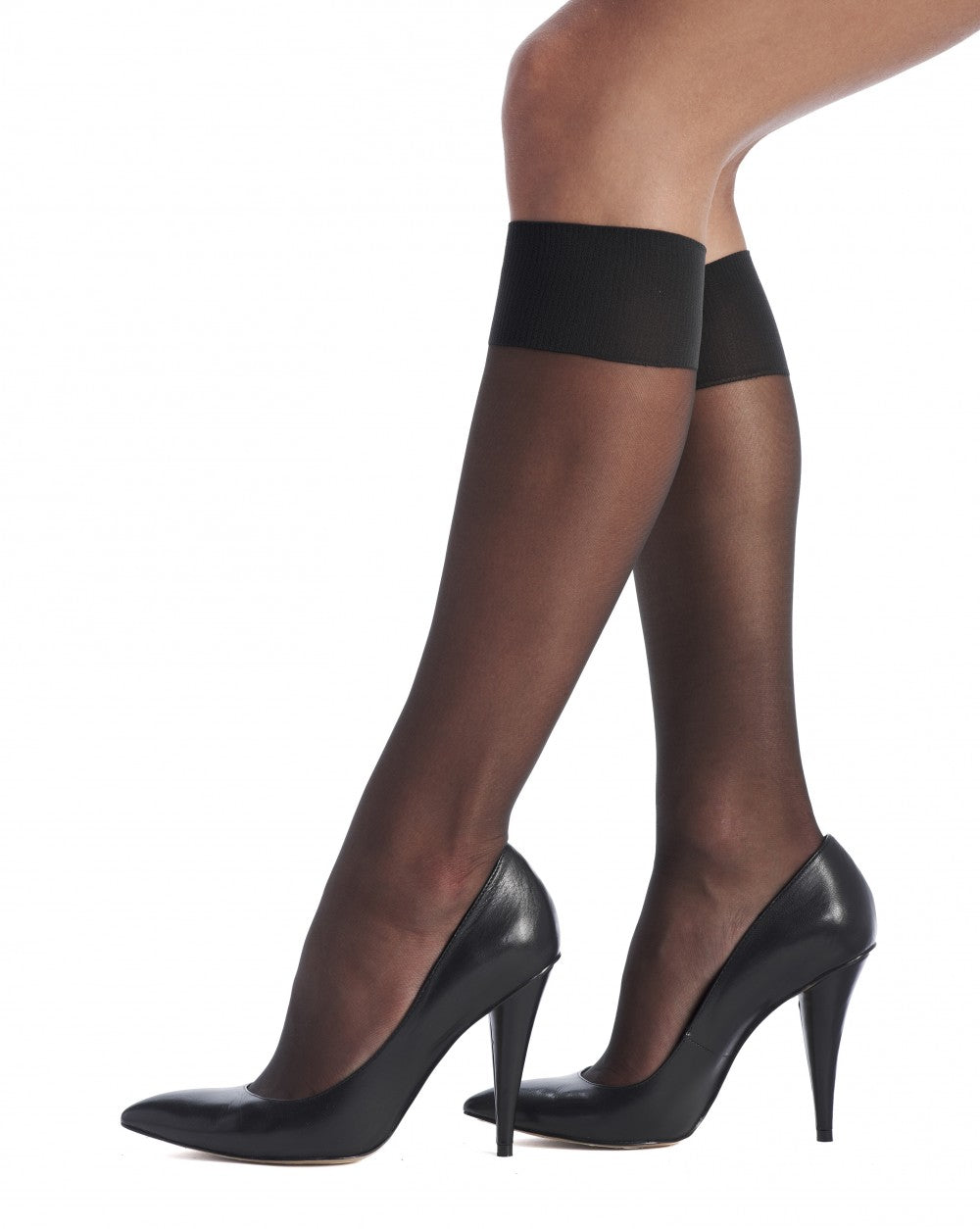 Oroblu  Knee-highs Jeune 20, BLACK