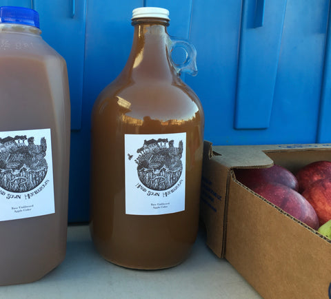 HSHG |  APPLE CIDER RAW  | Half Gallon