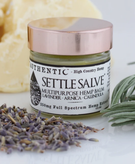 Authentic | Settle Salve - Multipurpose Buttery Salve with Lavender, Arnica & Calendula