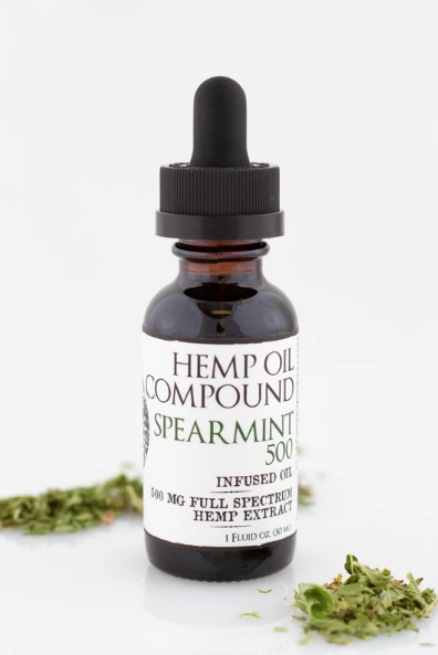 Authentic | Hemp Oil Compound - Spearmint